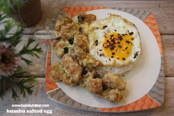 salted egg makanan